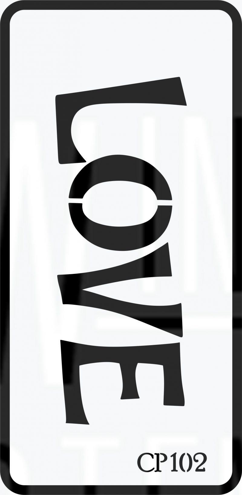 CP102 – Stencil