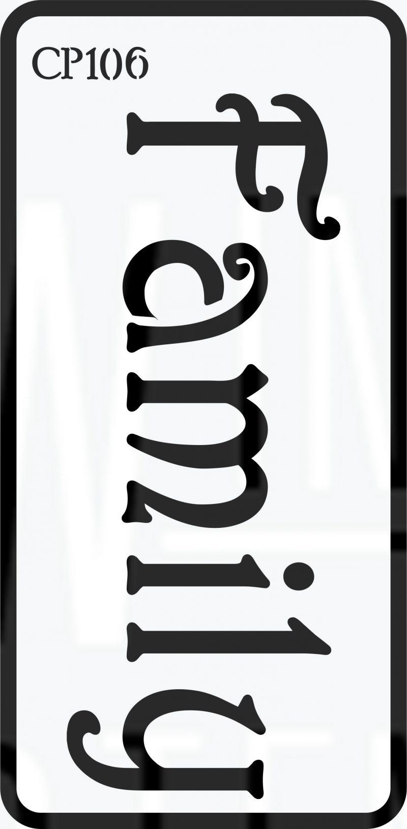CP106 – Stencil