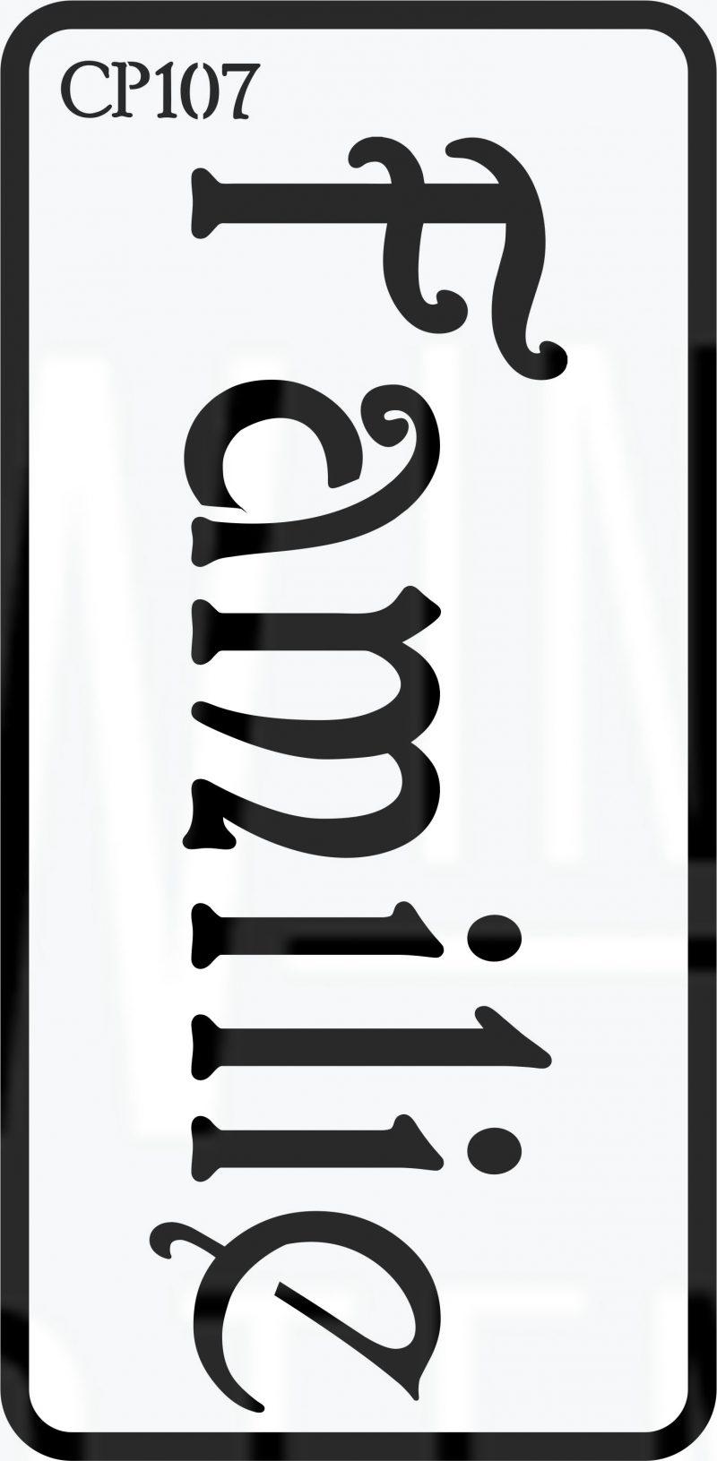 CP107 – Stencil