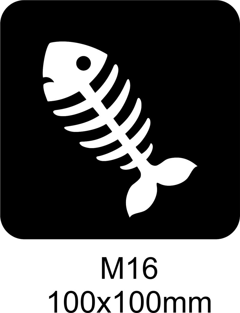 M16 – Stencil