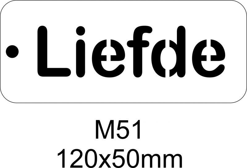 M51 – Stencil