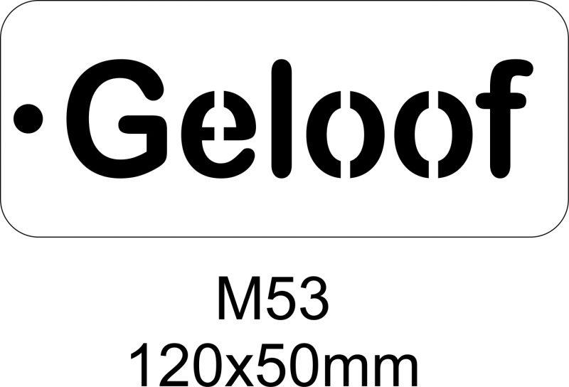 M53 – Stencil