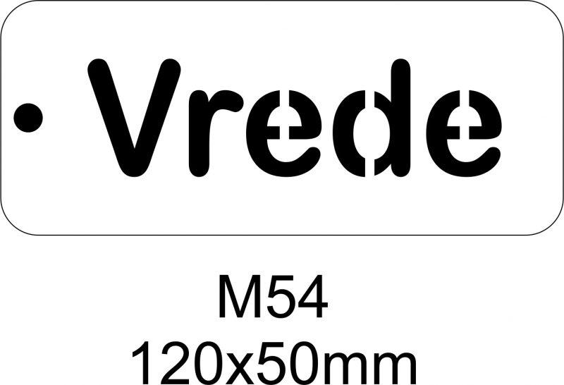 M54 – Stencil