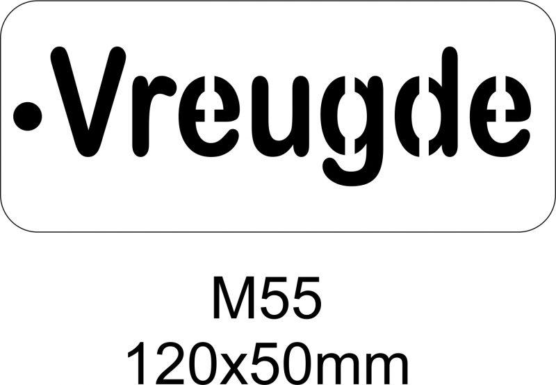 M55 – Stencil