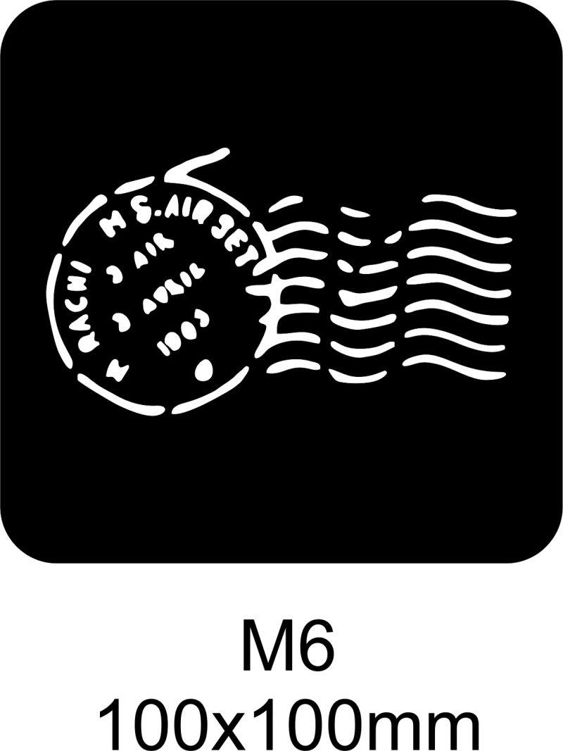 M6 – Stencil
