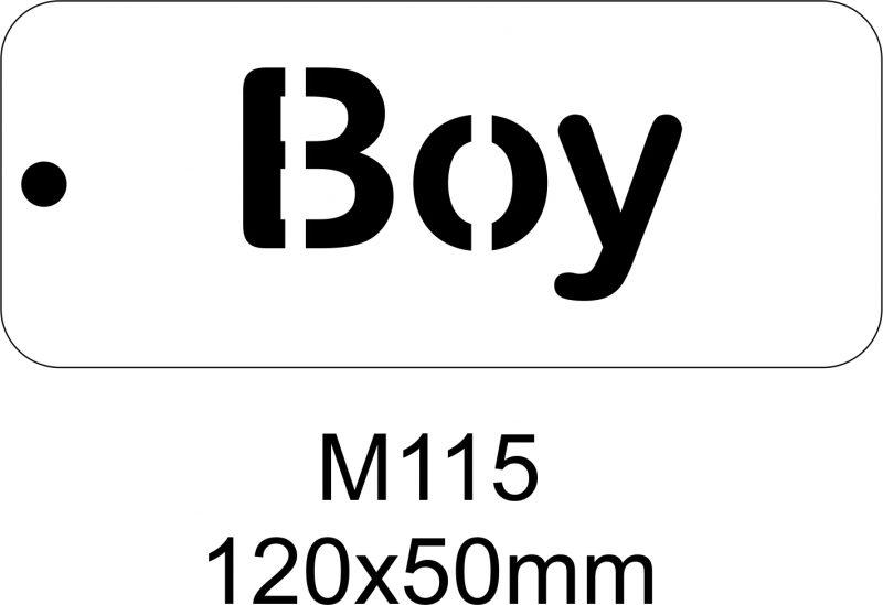 M115 – Stencil