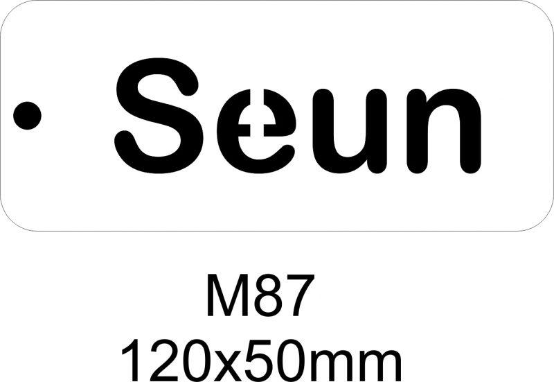 M87 – Stencil