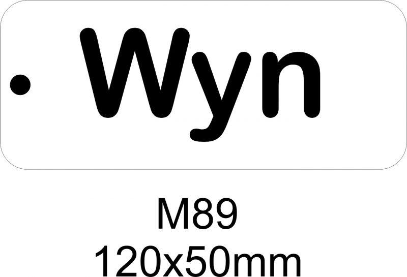 M89 – Stencil