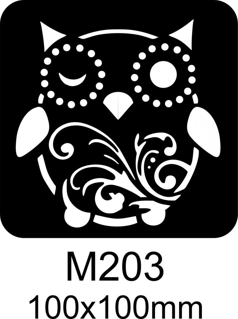 M203 – Stencil