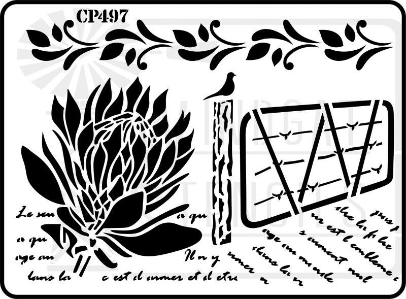 CP497 – Stencil