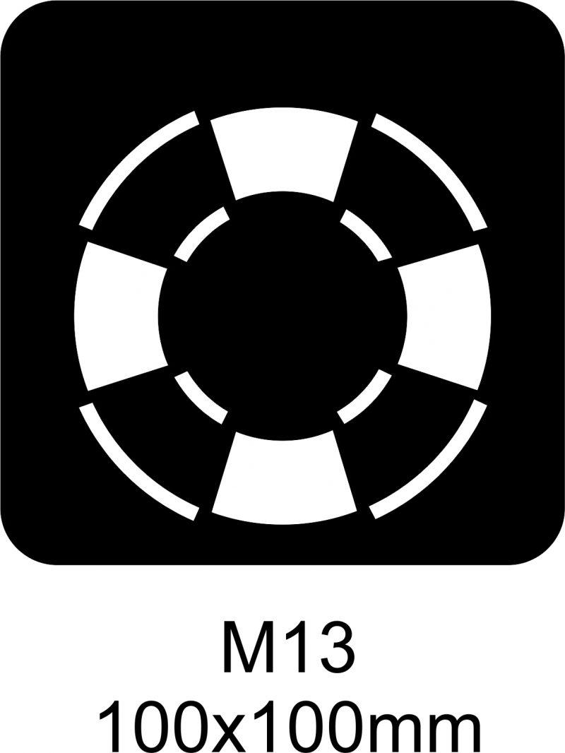 M13 – Stencil
