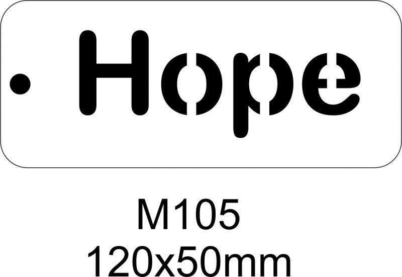 M105 – Stencil